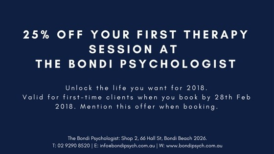 Discount psychologist Bondi